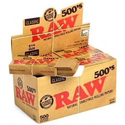 Papel Raw 500 1.1/4 (20 uds)