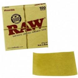 Papel Horno Raw 8x8cm 100uds